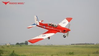 PC9 PILATUS GP/EP SCALE 1:7 ARF .46-.55 PH118 PHOENIXMODEL