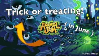 AJ adventures: trick or treating in june XD