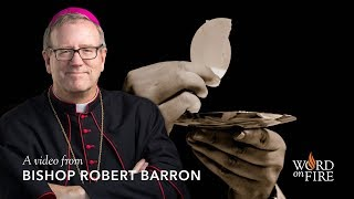 Video: 75% of Catholics do NOT believe the Eucharist, as they should - Robert Barron