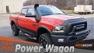 2018 Ram 2500 Power Wagon видео. Тест драйв Додж Рaм 2500 Power Wagon 2018 на Русском. Авто из США.