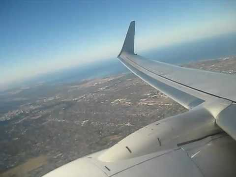 737-800 Turbulence Free Take Off,  Adelaide Airport QF 675