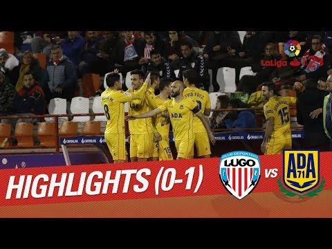 Resumen de CD Lugo vs AD Alcorcón (0-1)