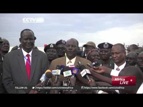 South Sudan opposition commanders arrive in Juba