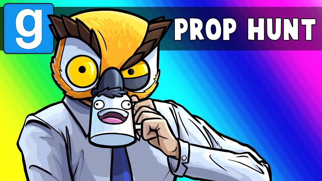 GMod Prop Hunt Funny Moments - Vanoss, Tax Accountant! (Garry's Mod)