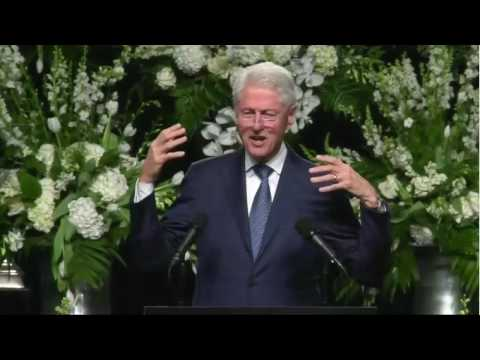Bill Clinton Delivers Eulogy at Ali Funeral FULL Speech - Muhammad Ali Memorial Service