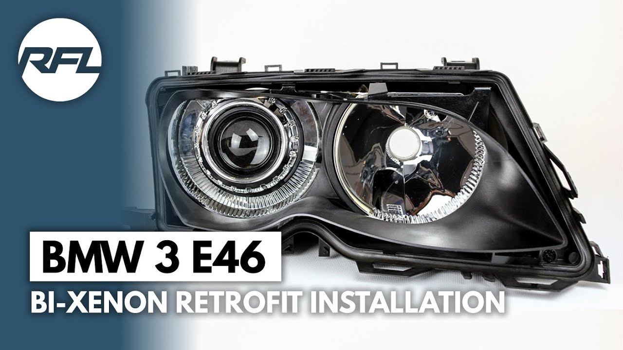 Bmw 3 E46 Bi Xenon Projector Headlight Retrofit Kit