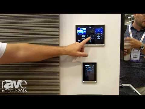 CEDIA 2016: Vantage Demos Integrated Lighting Control and Shading in Vantage Design Center Program