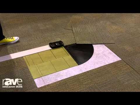 InfoComm 2015: Connectrac Showcases In-Carpet Wireway