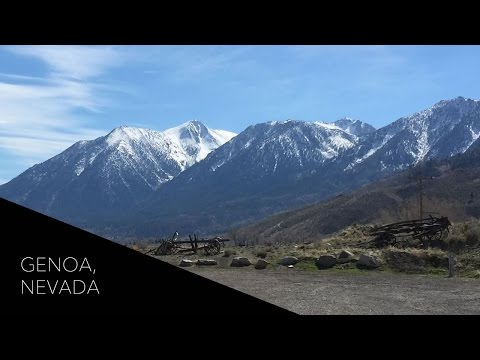 A Day Trip to Genoa, Nevada