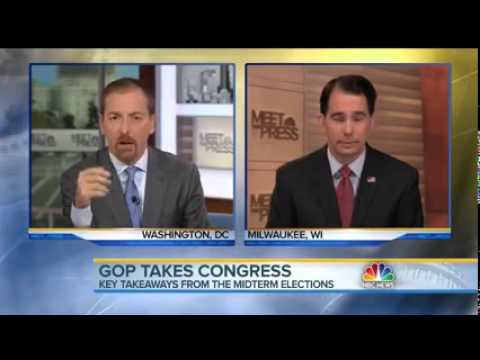 Wisconsin Gov. Scott Walker on NBC's Meet The Press
