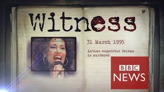 The day my pop star wife Selena was killed  Witness  (Documentary)  3/26/14