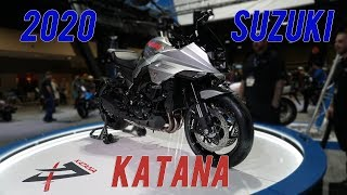 2020 Suzuki Katana Launch, Long Beach Motorcycle Show