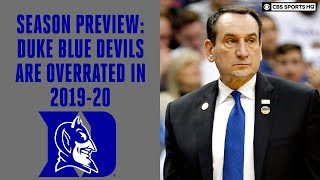 Duke Blue Devils Basketball 2019-20 BETTER WITHOUT ZION: Season Preview, Predictions | CBS Sports HQ