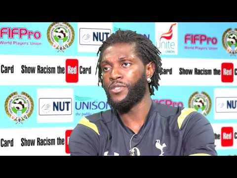Emmanuel Adebayor interview for Show Racism The Red Card