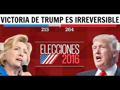 Noticias-Triunfo de Trump es Irreversible... ¿Quien Gano Elecciones Estados Unidos 2016? #USElection2016