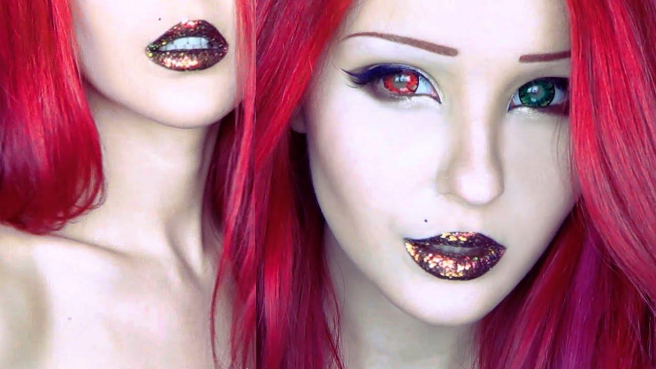 Анастасия шпагина с макияжем и без