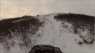 ATV QUAD Crash!!!!!Can-Am 800xt hillclimb multiple rollover!!!!!