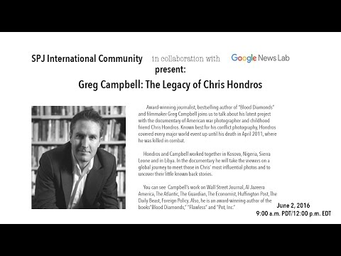 Celebrating the Life and Work of Chris Hondros