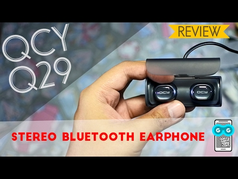 Review QCY Q29 Stereo Bluetooth Earphone - Indonesia - Plus How to Pair / Connect