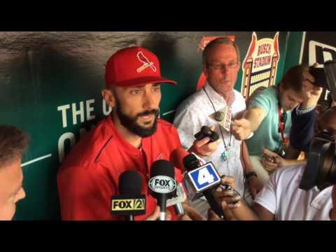 St. Louis Cardinals second baseman Matt Carpenter