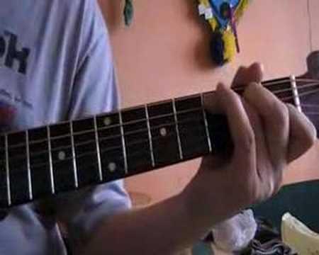 Guns N'Roses   Gitara Akustyczna ( łatwe Jak Koś Zaczyna Nauke Gry Na Gitarze)