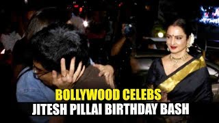 Bollywood Celebs At Filmfare Editor Jitesh Pillai Birthday Bash | Shahid, Alia, Anushka, Rekha