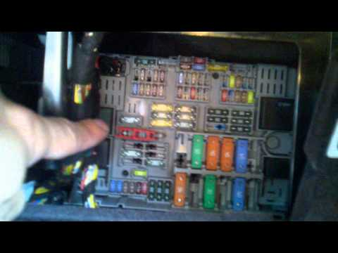 3 Series Door Lock Failure And Checking Fuses How To