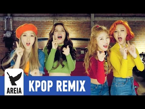 Mamamoo You're The Best (Areia Kpop Remix) music videos 2016