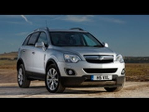 Vauxhall Antara road test