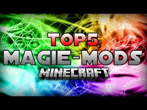 TOP 5 MINECRAFT MAGIE - MODS