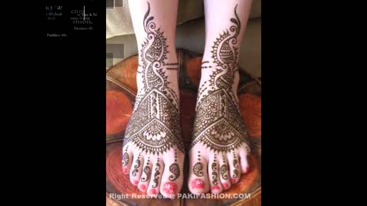 Mehndi Designs For Childrens Leg : Ki design henna mehndi designs for legs in hindi latest