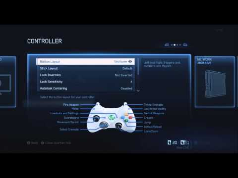 The Best Halo 4 Controller Settings