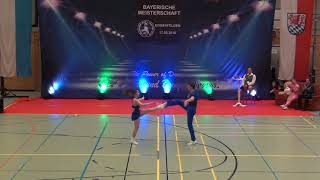 Vanessa Gottschall & Christian Lehr - Landesmeisterschaft Bayern 2018
