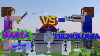 [EL] MAGIA VS TECNOLOGIA - LA BATTAGLIA FINALE | LovePack (MineCraft Animation)
