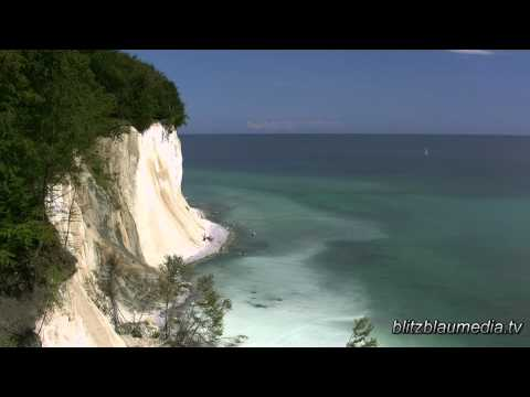 Stock Footage Europe Germany Baltic Sea Tourism Rügen Island Kreidefelsen Ostsee Travel Nature HD