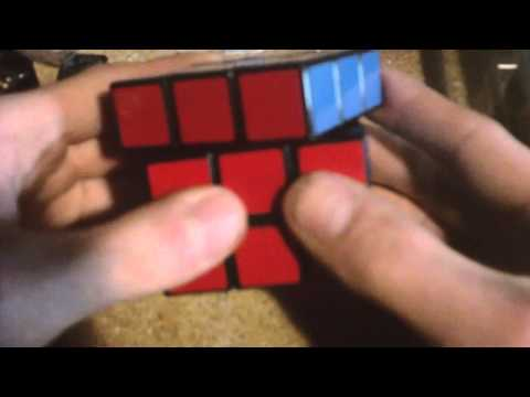 Watch turn a 3x3 into a Speed Cube