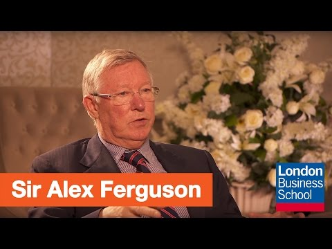 Sir Alex Ferguson at London Business School