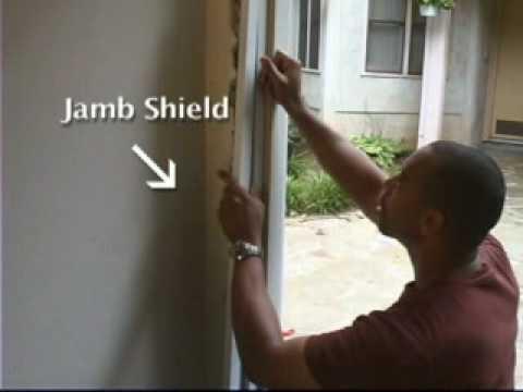 how to fix a broken door jamb