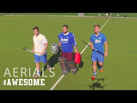 Awesome Field Hockey Skills In 4K! | Drone Aerials