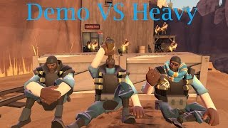 TF2 bot battle 23 : Demo Vs Heavy