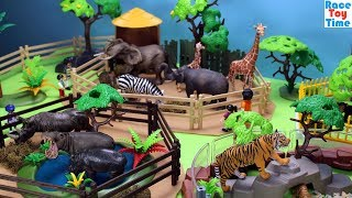 Animals Zoo Fun Toys For Kids -  Learn Animal Names Video