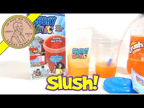 Slushy Magic, As Seen On TV - Slushify Any Drink & Make Slushies In Seconds!