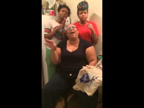The Fam singing I need more/I need thee