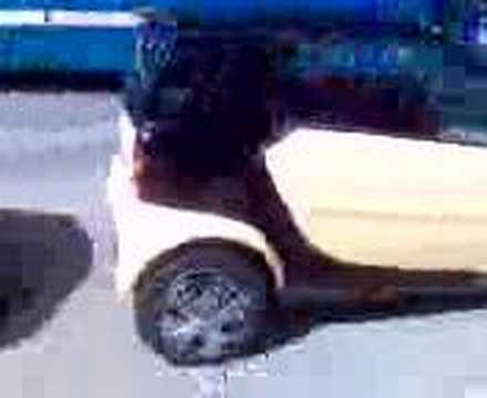 Smart Car With Spinners Smart Car With Spinners