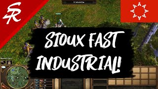 Sioux Fast Industrial Strategy! | Strategy School | Age of Empires III