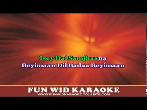 Lat Lag Gayi Karaoke - Fun Wid Karaoke (dj Lolly) video