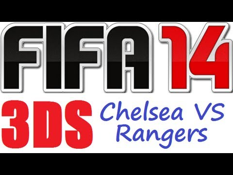 Fifa 14 Nintendo 3DS Chelsea VS Rangers Full Match Gameplay