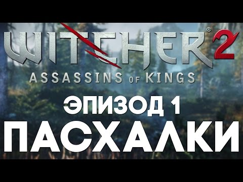 Пасхалки в The Witcher 2 #1 [Easter Eggs]