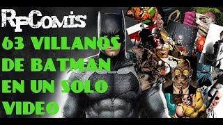 63 Villanos de Batman (EN UN SOLO VIDEO)
