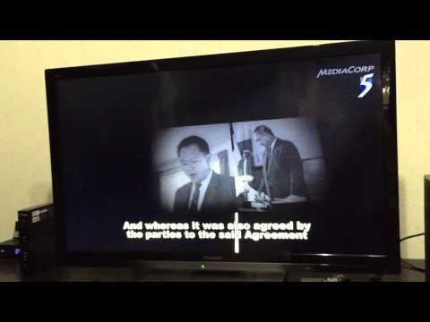SG50 9aug2015 The proclamation of Singapore (recording from mediacorp broadcast) (low quality)